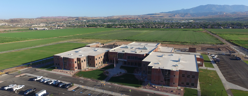 A view of WFIS from above
